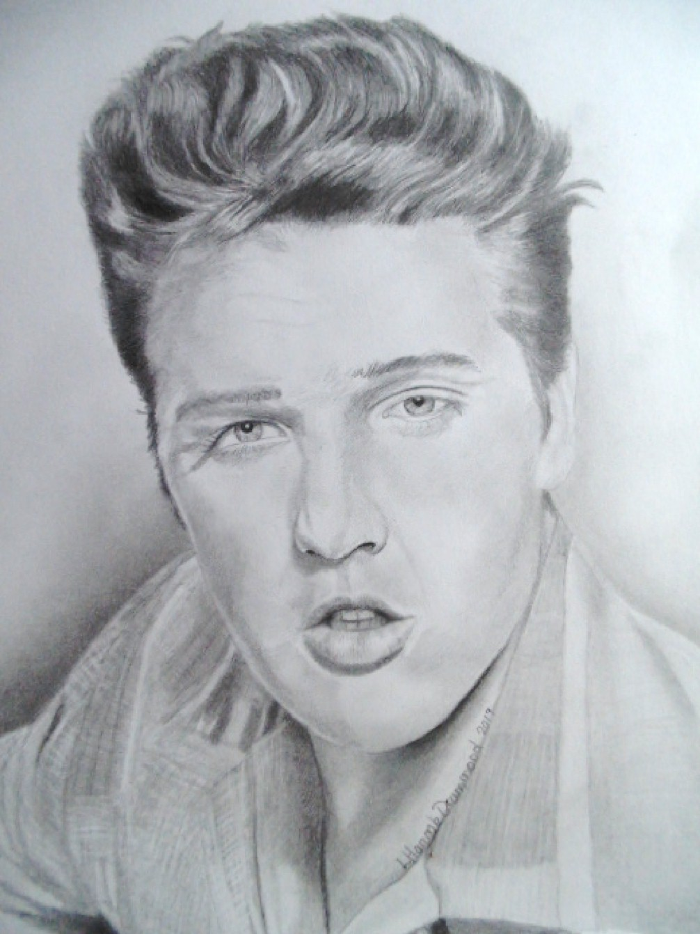 Elvis Drawing 2