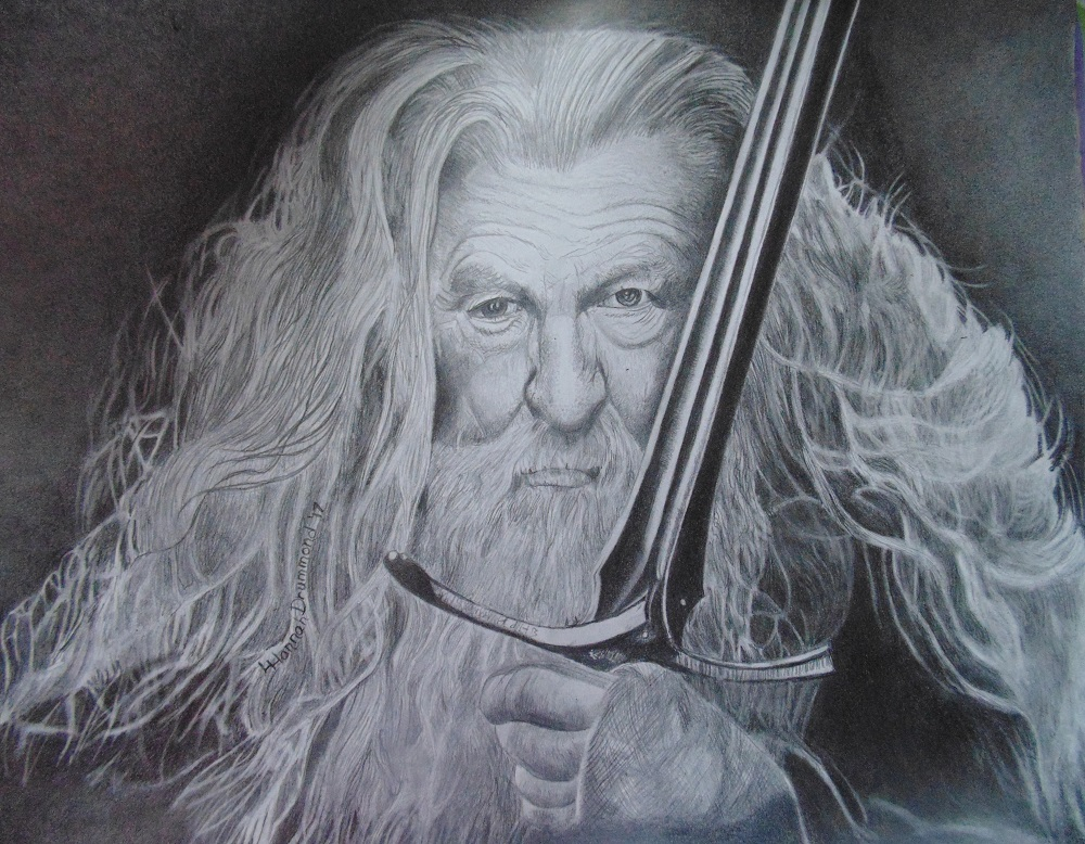 Gandolf Portrait