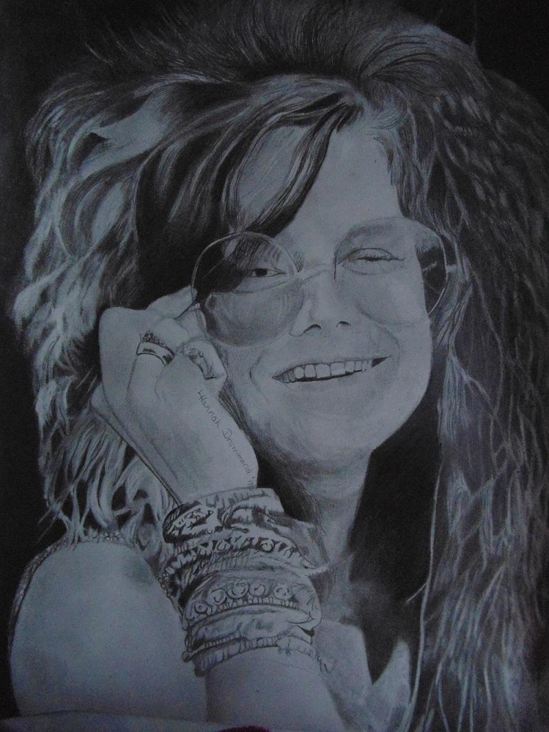 Janis Joplin Portrait