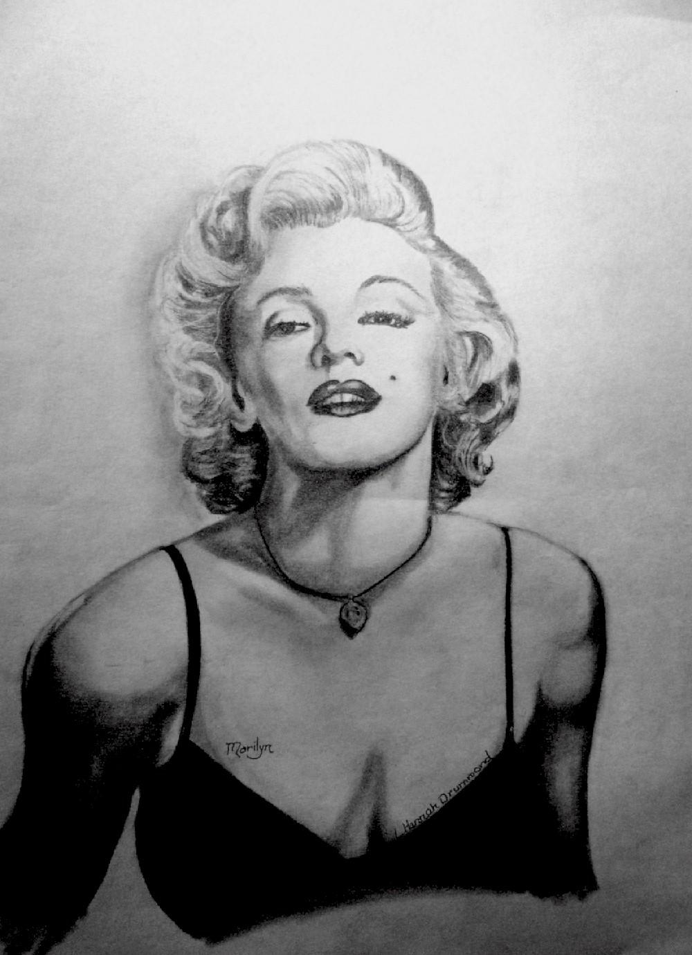 Marilyn Munroe Portrait