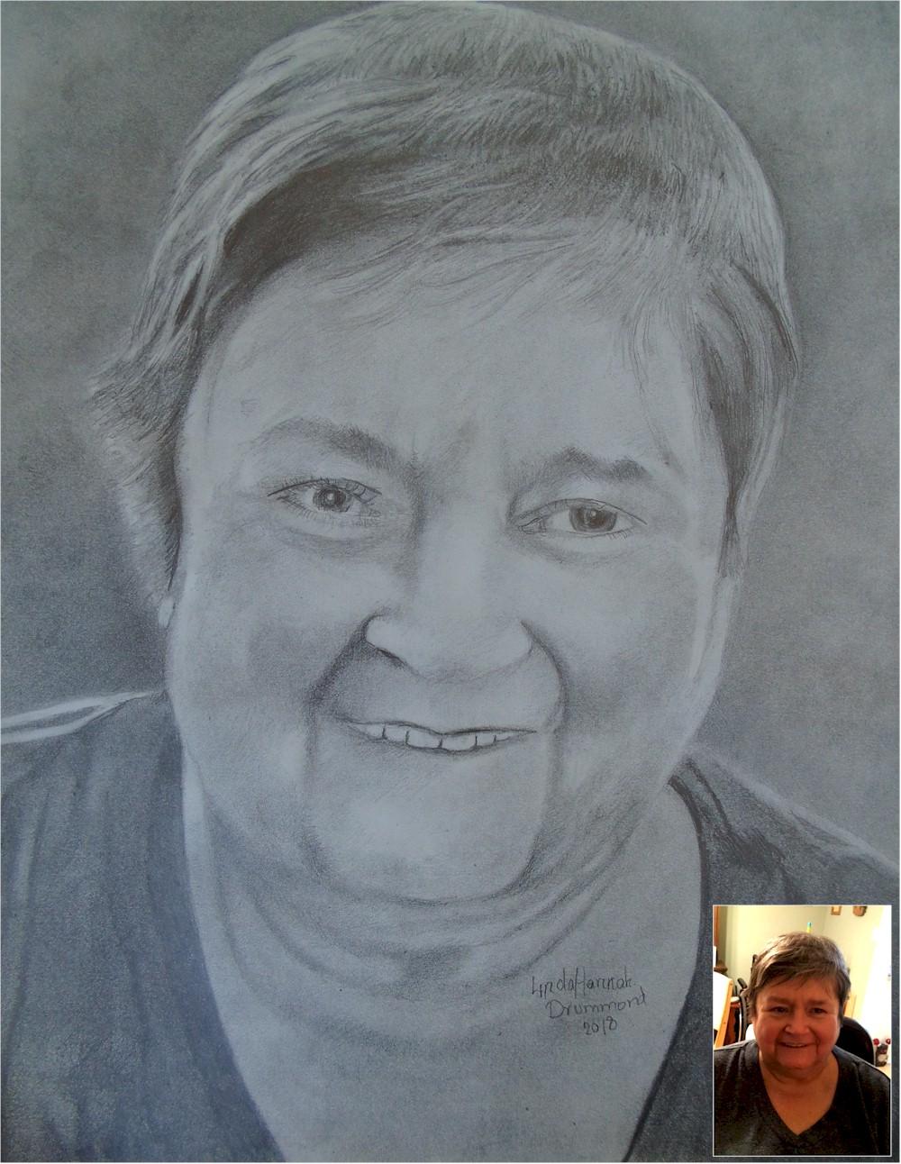Memorial Portrait of a Woman